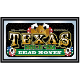 9.2 Framed Texas Holdem Wall Mirror - Dead Money