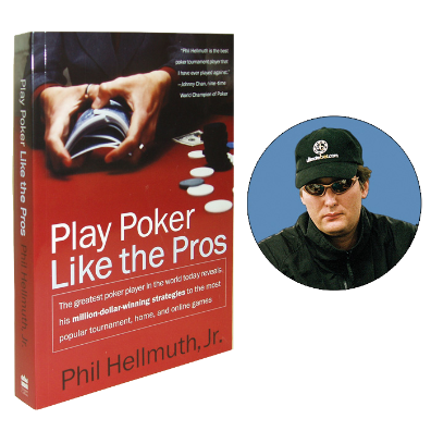 Play Poker Like the Pros Book by Phil Hellmuth