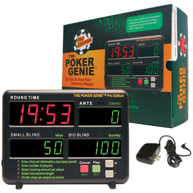 Poker Genie - Home Tournament Manager Timer