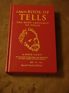 4. Caro's Book of Tells, leather-bound, Limited edition