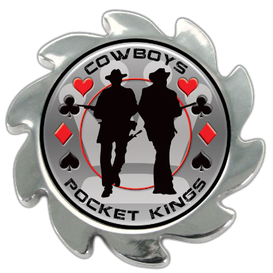 Shadow Spinners™ Pocket Kings - Cowboys - Spinner Card Cover