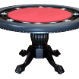 The Nighthawk - 8 Player Round Table - Red