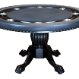 The Nighthawk - 8 Player Round Table - Black