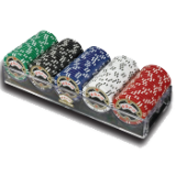 ESPNR 100 Assorted 11.5g Championship Edition Poker Chips