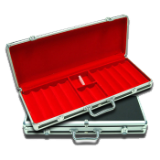 550 PC Black Case with Red Interior