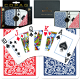 Copag™ Poker Size Jumbo Index - Blue*Red Setup