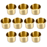 10 Brass Drop In Cup Holders