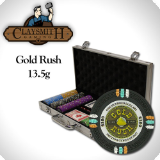 300Ct Claysmith Gold Rush Poker Chip Set