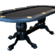 The Elite Poker Table with black speed cloth