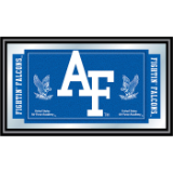 Air Force Logo and Mascot Framed Mirror