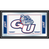 Gonzaga University Logo and Mascot Framed Mirror