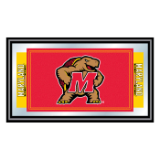 Maryland University Logo and Mascot Framed Mirror