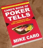 1. Caro's Book of Poker Tells, softbound edition