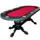 The Elite Poker Table with standard red cloth