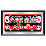 Four Aces Mirror - POKER ROOM