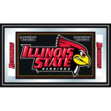 Illinois State University Logo and Mascot Framed Mirror