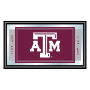 Texas A&M University Logo Framed Mirror
