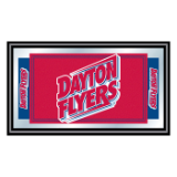 University of Dayton Logo and Mascot Framed Mirror