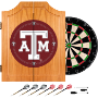 Texas A&M University Dart Cabinet - Includes Darts and Board
