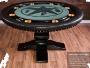 A Nighthawk Round Card Table