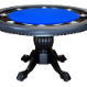 The Nighthawk - 8 Player Round Table - Blue