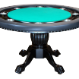 The Nighthawk - 8 Player Round Table - Green