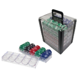 1000 Chip Capacity Clear Carrier - includes chip trays