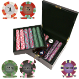 750 Chip NexGen™ PRO Classic Series Poker Set - Wood Case