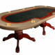 The Premier Poker Table - black felt