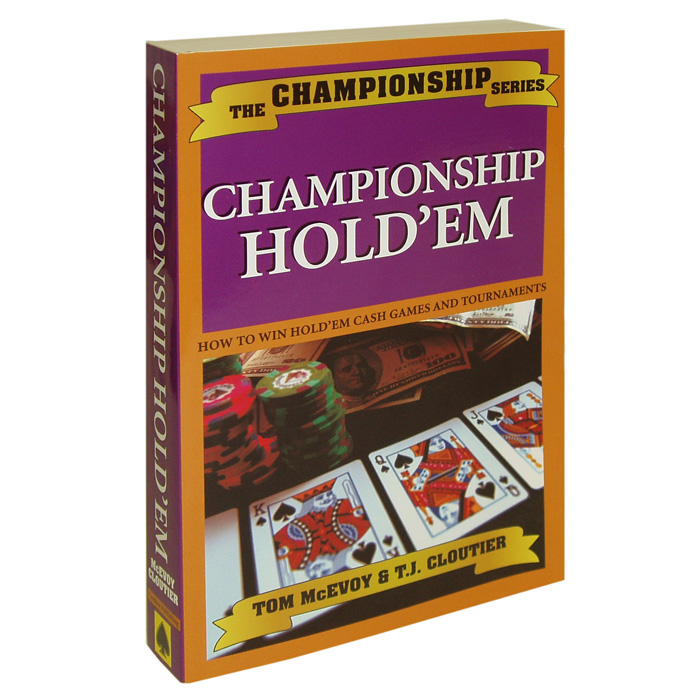Best online texas holdem poker books